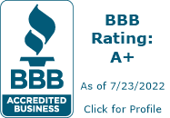 A+ BBB Accredited Home Security Company